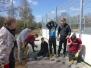 Bauarbeiten der Soccerplätze