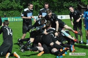 Titelgewinn in Borghorst. Heiden ist Landesliga-Meister